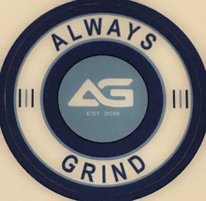 Always Grind: Bat Knob Decal