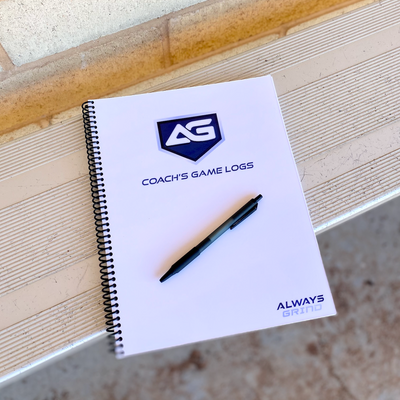 Always Grind: Coach's Game Logs Notebook