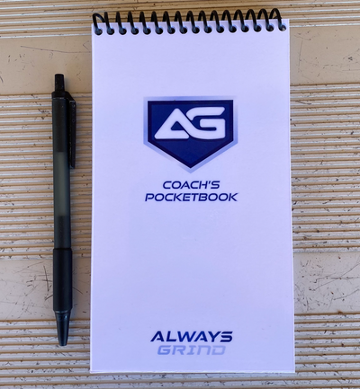 Always Grind: Coach's Pocketbook Cover