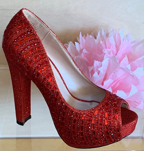 Carina-80C/Color-Red-Sparkle