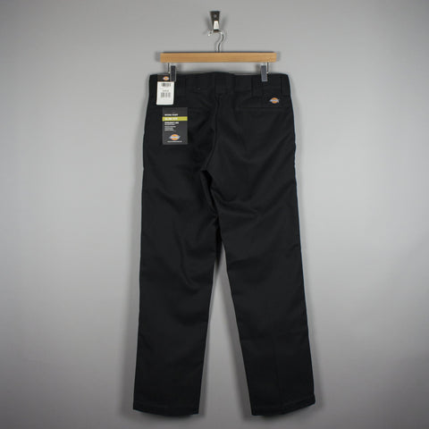 Dickies 873 Slim Straight Work Trousers Black