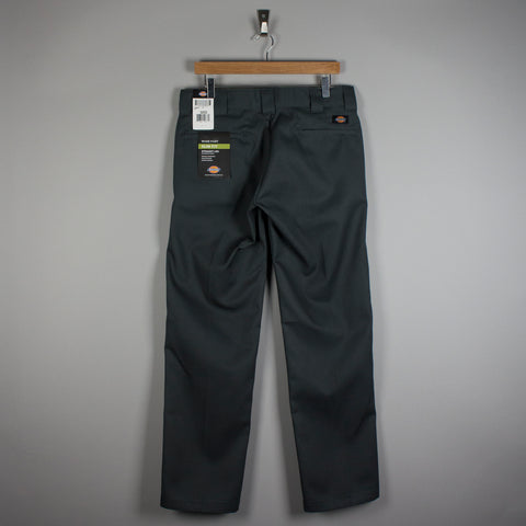 Dickies 873 Slim Straight Work Trousers Charcoal Grey