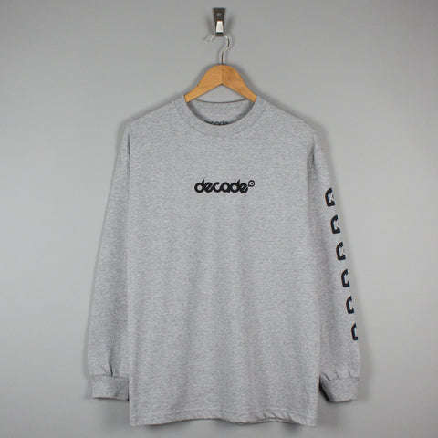 Decade 10 Longsleeve T-Shirt Heather Grey