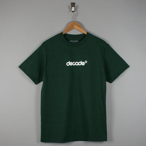 Decade Logo T-Shirt Forest Green
