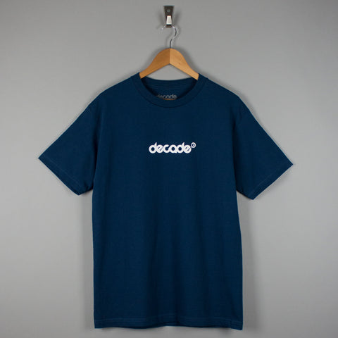 Decade Logo T-Shirt Harbour Blue