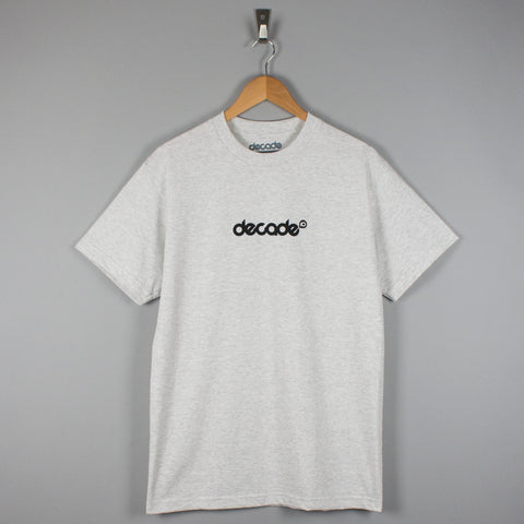 Decade Logo T-Shirt Ash Grey