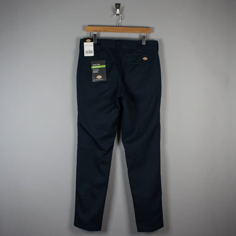 Dickies 872 Slim Work Trousers Dark Navy