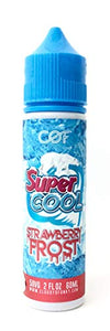 COF Cloudy O Funky 電子タバコリキッド60ml SUPER COOL STRAWBERRY FROST (ストロベリー フロスト)
