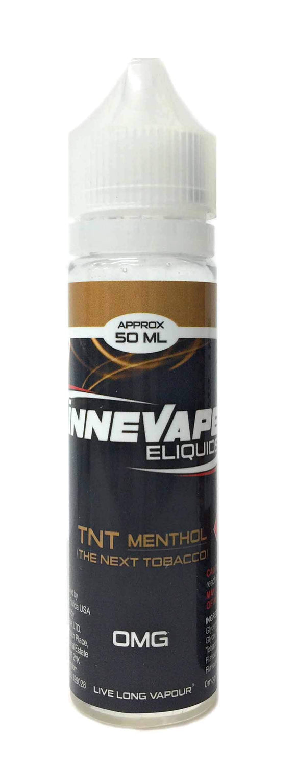 iNNEVAPE ELIQUIDS 電子タバコリキッド50ml TNT MENTHOL (THE NEXT TOBACCO)