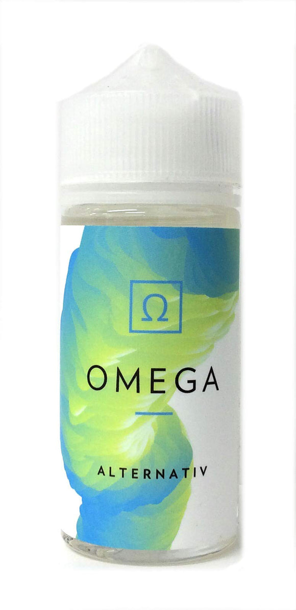 電子たばこ VAPE リキッド ALTERNATIV OMEGA/ALPHA 100ml (OMEGA)