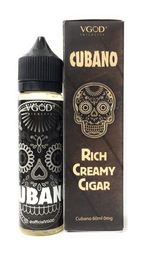 VGOD 電子タバコリキッド60ml RICH Creamy Cigar CUBANO