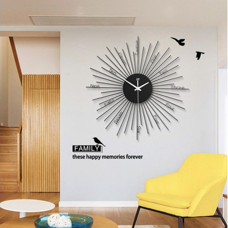 Big Decoration Wall Clock