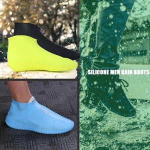 Waterproof Non-Slip Silicone Shoes Cover (1 Pair)