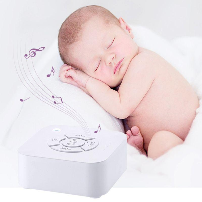 White Noise Generator Machine For Baby Sleeping Rain Fan