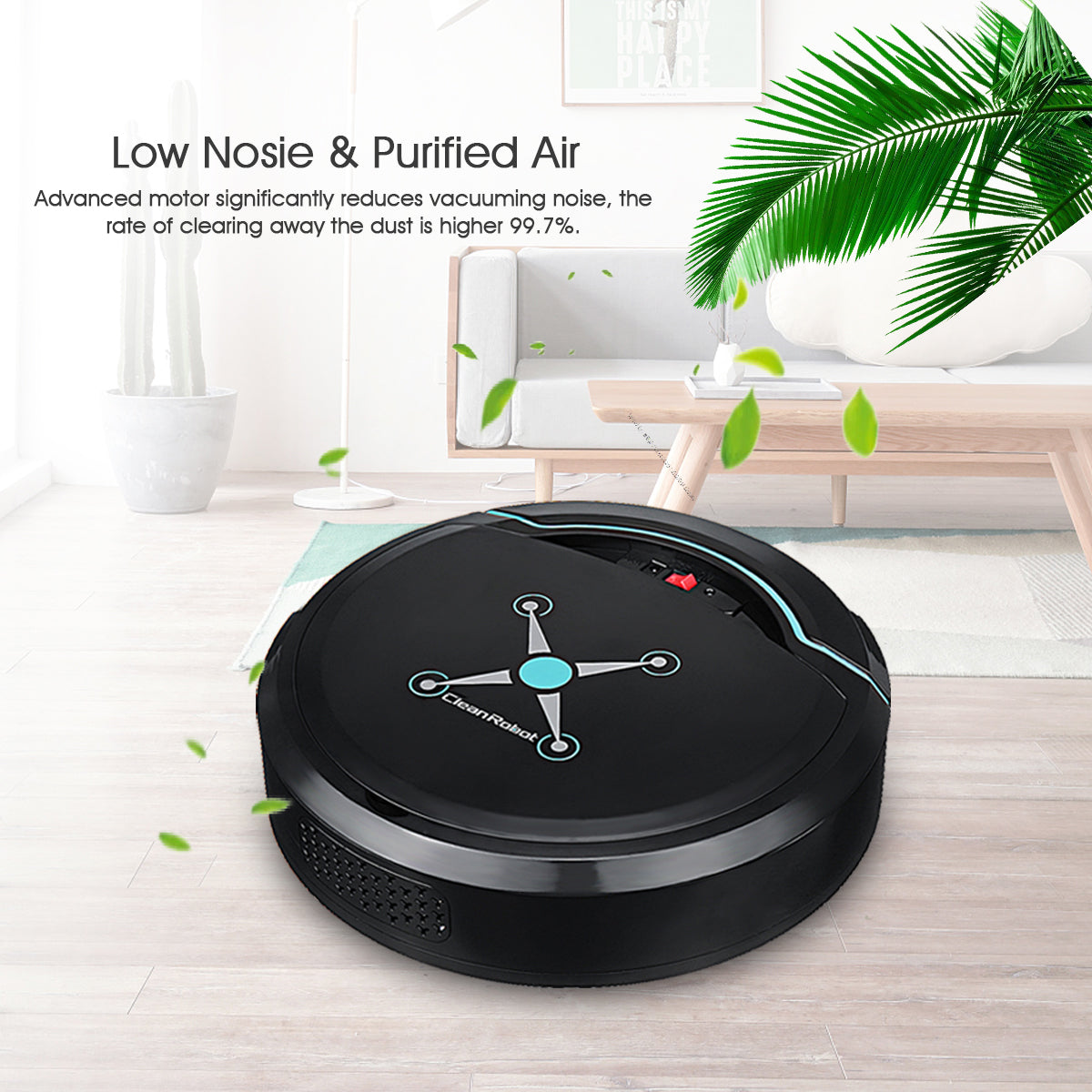 S001 Robot Vacuum Cleaner Black Friday Cyber Monday Boxing