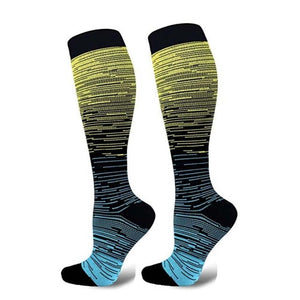 Outdoor Gradient Compression Socks
