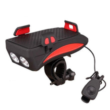 Load image into Gallery viewer, 4 in 1 Bike Flashlight