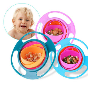 360 Degree Rotatable Spill Proof Bowl