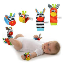 Load image into Gallery viewer, Baby Soft Rattle Toys for Hands and Feet