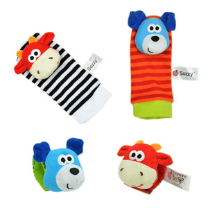 Baby Soft Rattle Toys for Hands and Feet