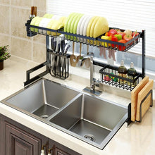Load image into Gallery viewer, Stainless Steel Paint Kitchen Rack