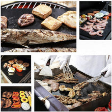 Load image into Gallery viewer, Reusable Non-stick BBQ Grill Mat