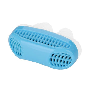 2 In 1 Anti Snoring & Air Purifier Silicone Nose Clip
