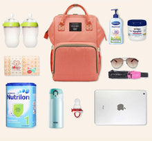 Load image into Gallery viewer, Fashion Baby Nappy Bag