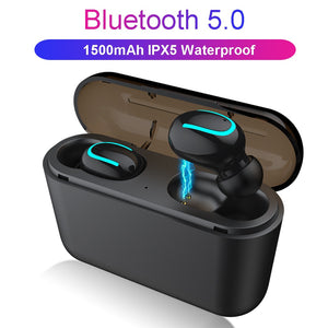 HBQ Bluetooth 5.0 Earphones TWS Wireless Headphones