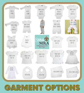 Personalized New Orleans Baby Shirt