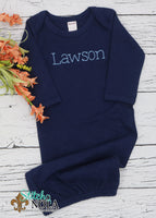 Personalized Baby Sketch on Colored Garment