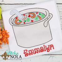 Personalized Seafood Boil Sketch Shirt