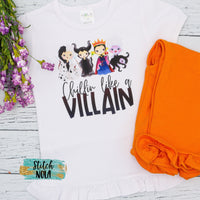 Chillin like a Villain Printed Shirt