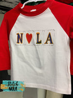 Adult NOLA Love by NOLA Bee Printed Tee