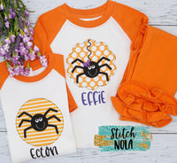 Personalized Circle Spider Printed Shirt