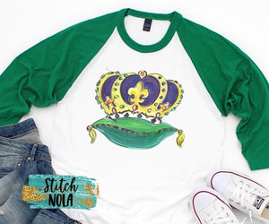 Adult King Crown by NOLA Bee Printed Tee