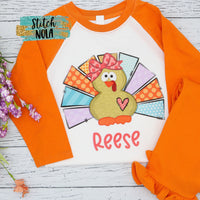 Personalized Turkey Printed Shirt