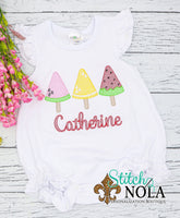 Personalized Fruitti Tutti Pops Sketch Trio Shirt