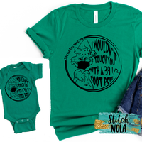 Mommy and Me Social Distancing Green Monster Set