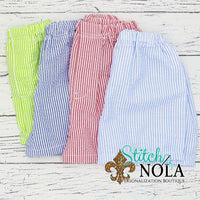 Personalized Preppy Stripe Monogrammed Frame Printed Shirt