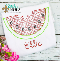Personalized Watermelon Sketch Shirt