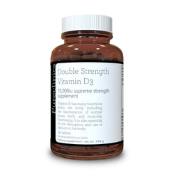 Vitamin D3 - 10000iu x 180 tablets - Double Strength