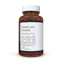 Turmeric and Curcumin - 1100mg x 180 tablets - Including 95% Curcumin