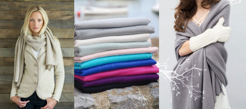 Cashmere accessories and how to care for your cashmere at Perilla