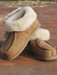 Snugly Sheepskin Slippers