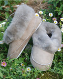 Soft Sheepskin Slippers at Perilla