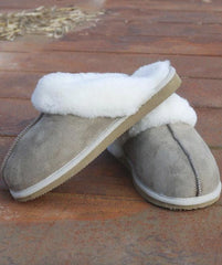 Sheepskin Slip on Slippers for Children