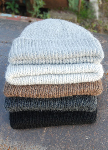 Alpaca Timeless Hand Knitted Beanie