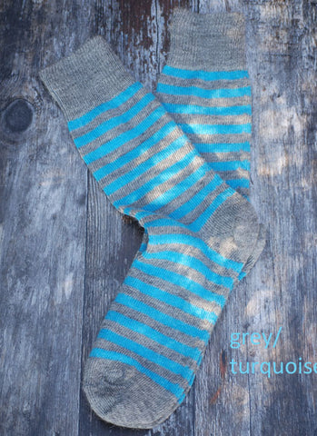 Alpaca Striped Everyday Socks