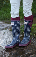 Wellington Boot Socks